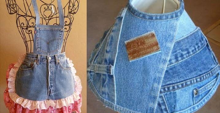 15 ideas para reciclar tus jeans viejos - Ideas para ropa ...