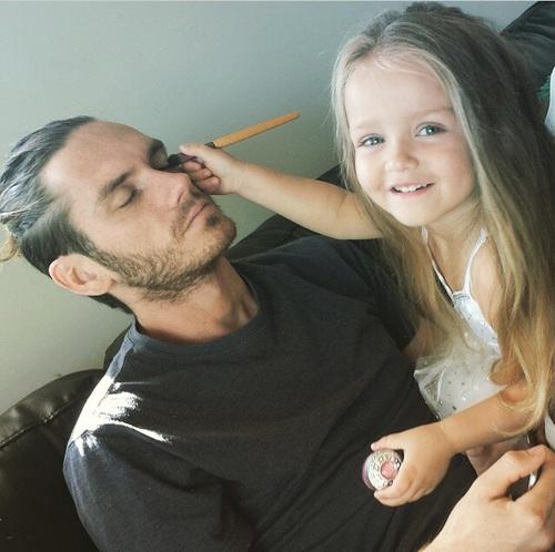 maquillaje papa