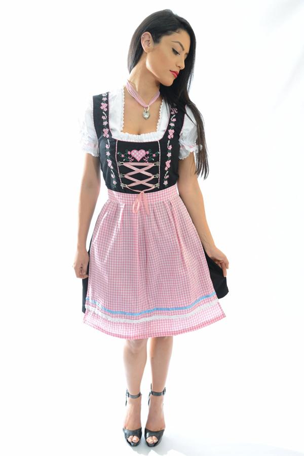 d6c6dba650 Es el vestido más emblemático en la región de Alemania y Austria. Muchos  hombres afirman que este vestido hacer lucir realmente sexys a las mujeres.