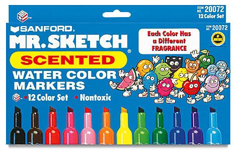 plumones de colores