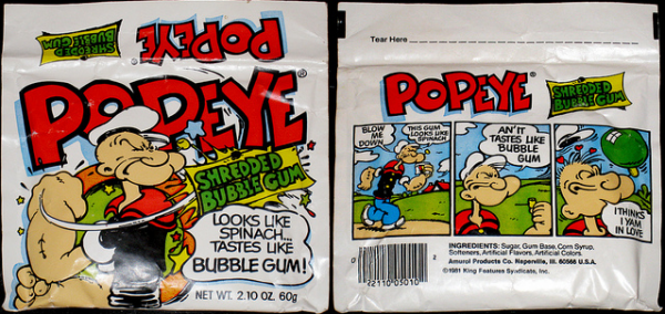 popeye chicle