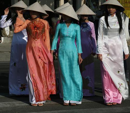 vietnam vestidos