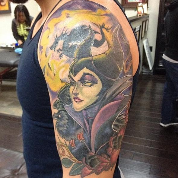 5--tatuajes-inspirados-disney-villanos