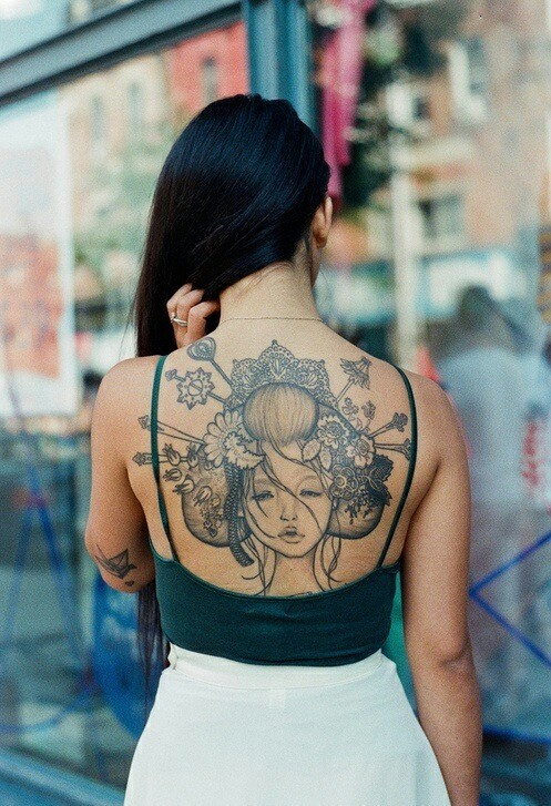 back tatto9