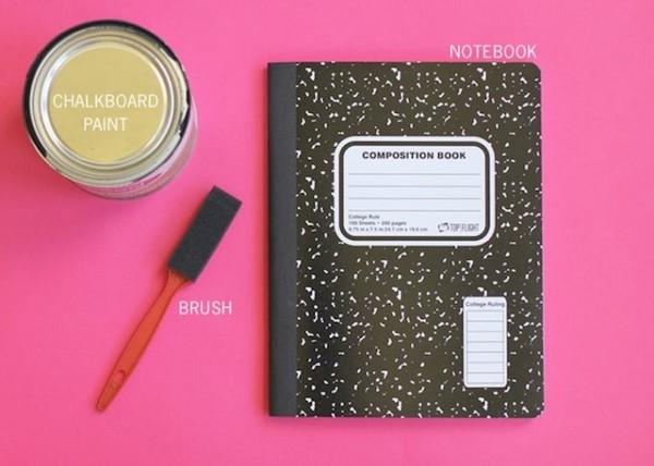 cuaderno pizarron