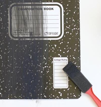 pizarron cuaderno
