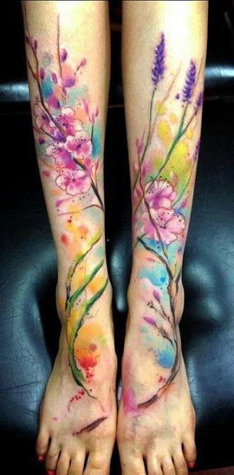 leg tattoo11
