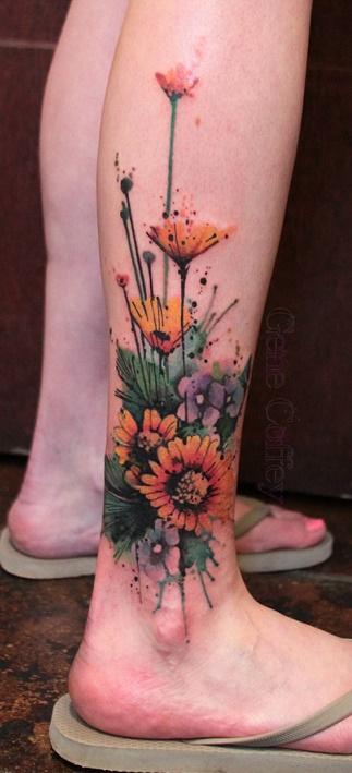 leg tattoo13