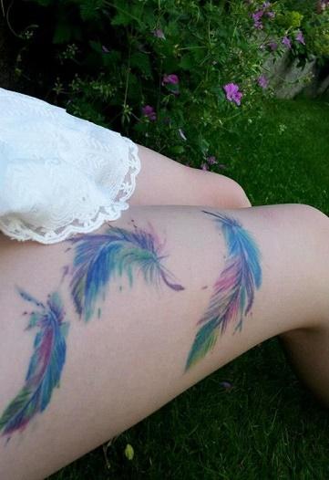 leg tattoo14