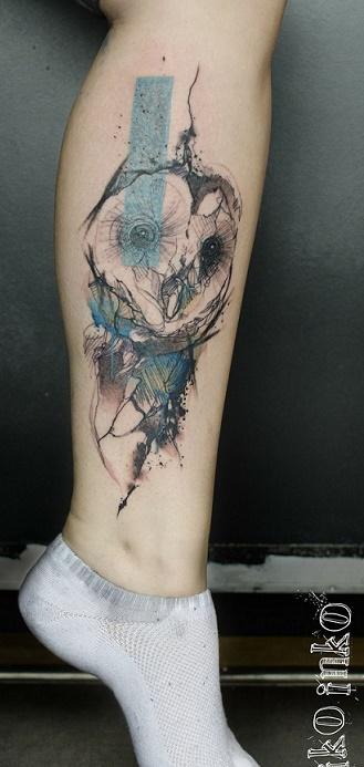 leg tattoo22