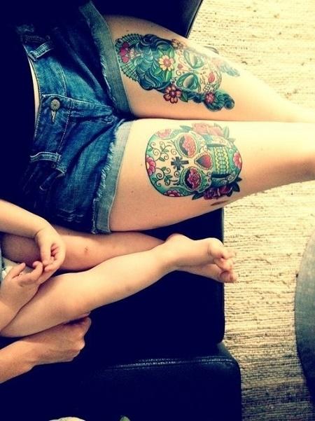 leg tattoo23