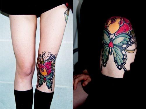 leg tattoo26