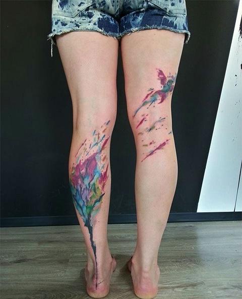 leg tattoo5