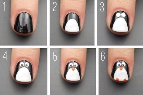 nails steps14