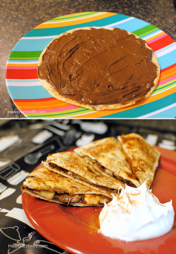 quesadillas-de-nutella