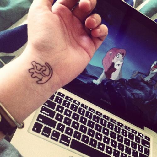 rey leon tatuaje