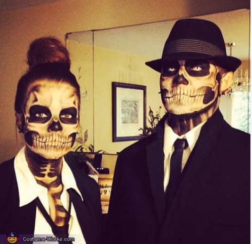 Maquillajes para Halloween que por más que intente jamás lograre35