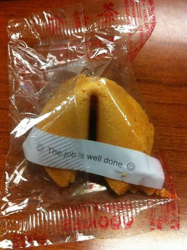 galleta de la suerte