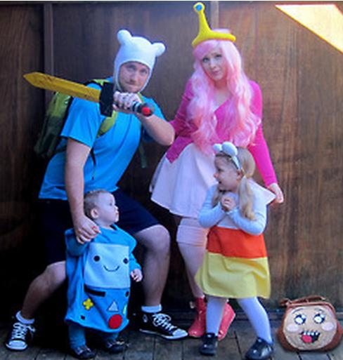 28 disfraces familiares que enternecer n este halloween - Disfraces en familia ...