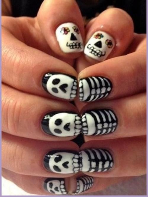 huesos halloween