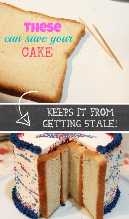 para el pastel