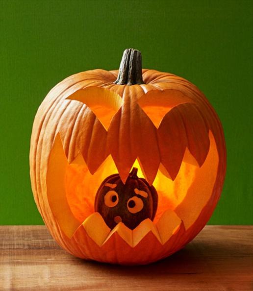 40 Ideas para adornar tu calabaza este Halloween