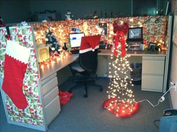 Decoraciones navideñas que salieron del corazpon de un Godinez 23