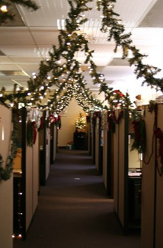 Depressing Office Christmas Decorations13