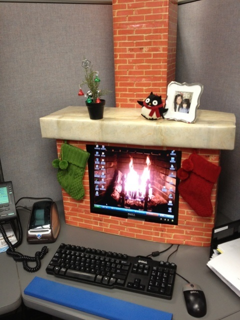 Depressing Office Christmas Decorations14