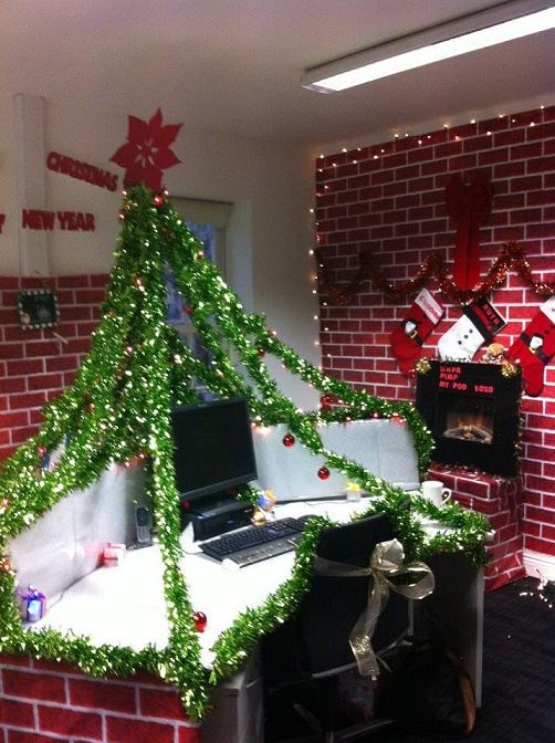 Depressing Office Christmas Decorations16