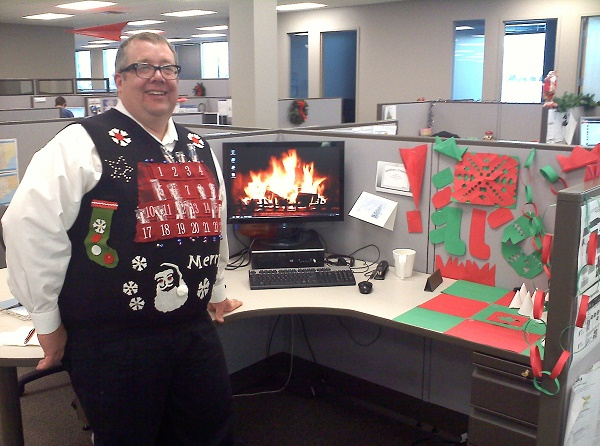 Depressing Office Christmas Decorations19