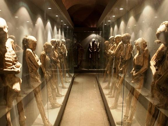 Museo de Momias en Guanajuato, México.