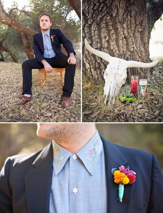 Thematic halloween wedding10