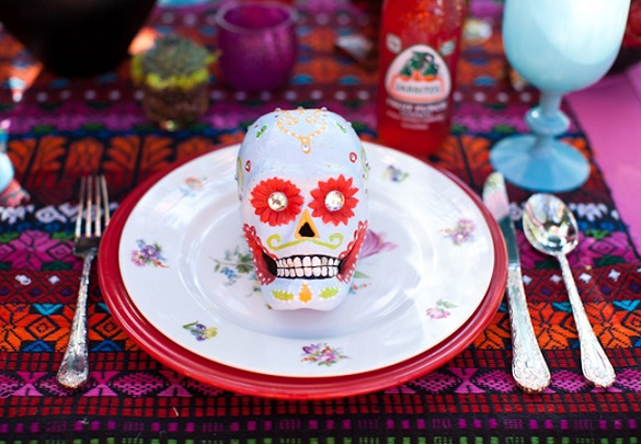 Thematic halloween wedding18