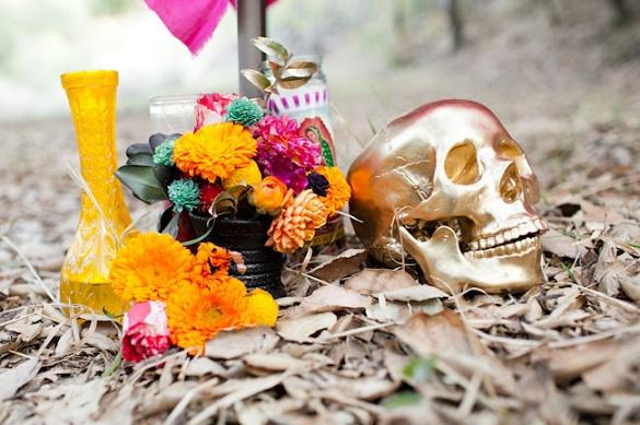 Thematic halloween wedding3
