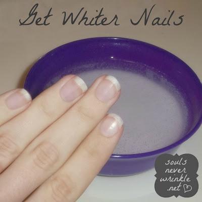 Whiten your nails