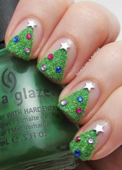christmas nails15