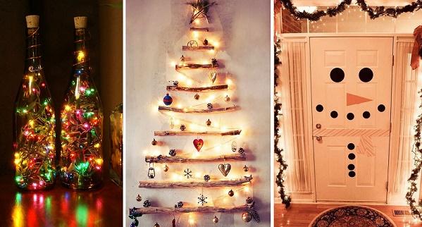 20 maneras para que tu casa luzca s per navide a sin for Como decorar mi casa sin gastar