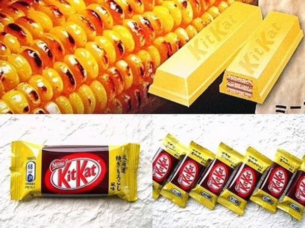 kit kat chocolate elote