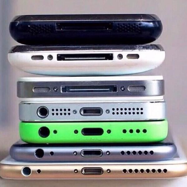 todos los iphones