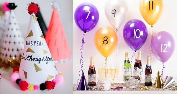 Sencillas ideas de decoraci n para que tu fiesta de a o - Decoracion fin de ano ...