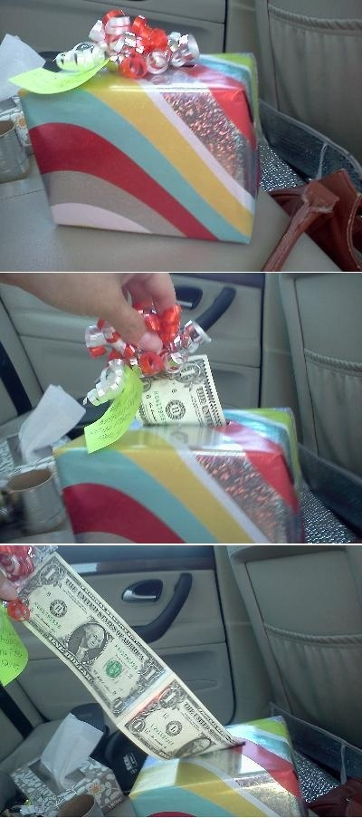 creative ways to give money16