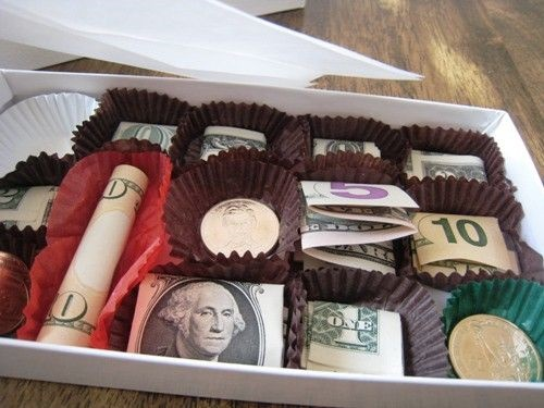 creative ways to give money4