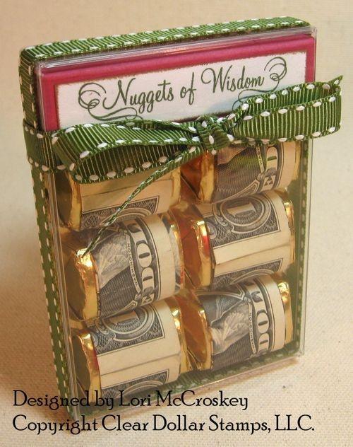 creative ways to give money6