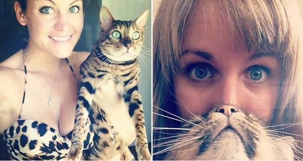 gatos y chicas7