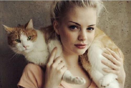 gatos y chicas9
