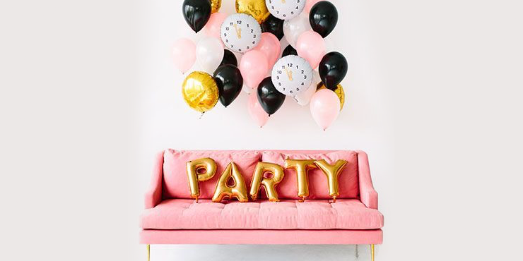 b3322000d ¡Ideas sencillas para decorar tu fiesta de año nuevo!