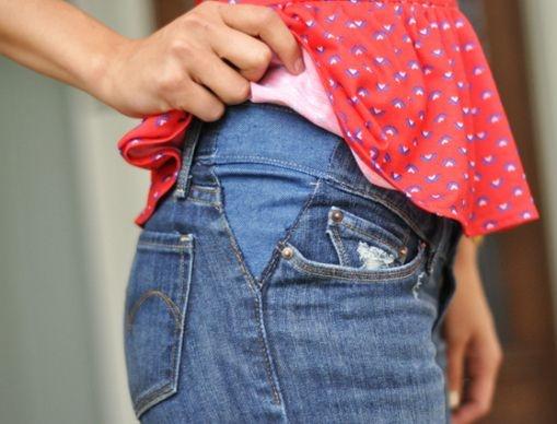 606d2a569 12 Tips para transformar tu ropa en prendas de maternidad