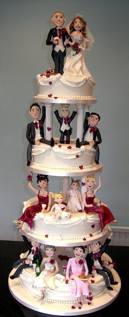 Unusual Wedding Cakes12