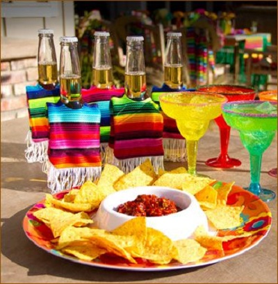 Resultado de imagen para centros de mesa mexicanos